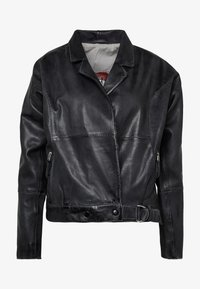 Freaky Nation - LORIANA - Leather jacket - black - 4