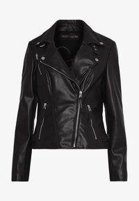 Freaky Nation - BIKER PRINCESS - Kurtka skórzana - black - 4