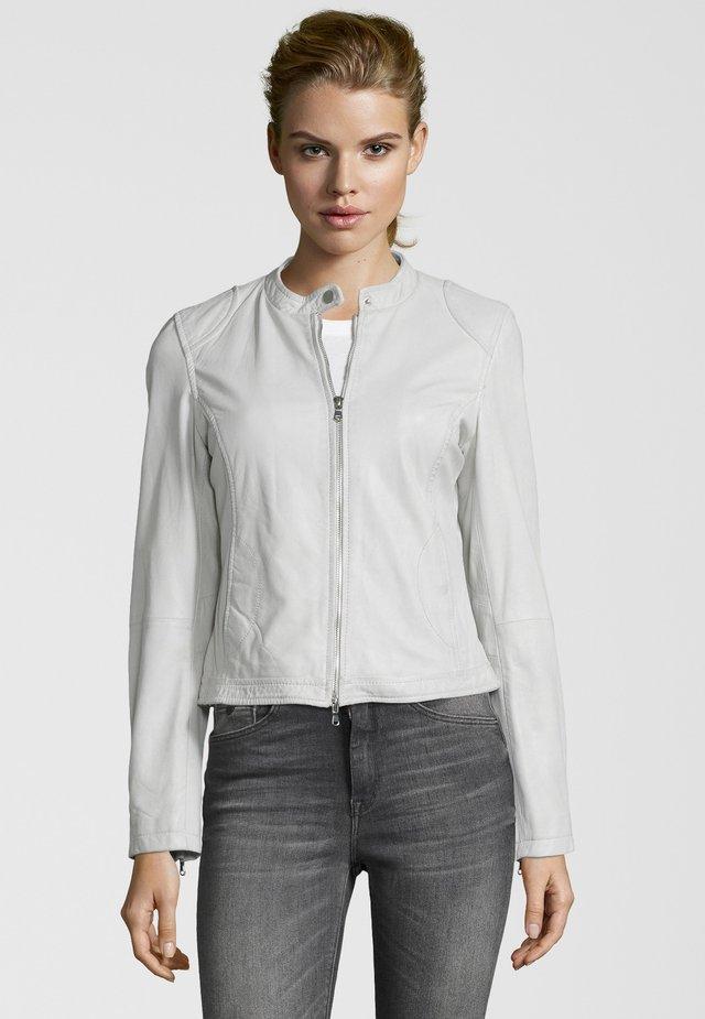 NEW CAROL - Leather jacket - white