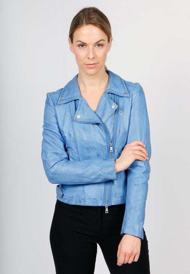 UNDRESS ME!-FN SVF - Leather jacket - regatta
