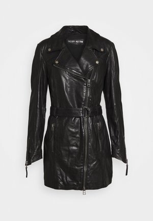 AUTUMN DAY - Krátký kabát - black