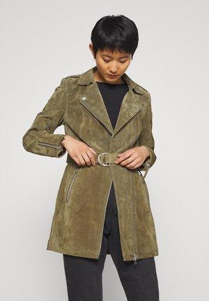 AUTUMN DAY - Kožená bunda - uniform