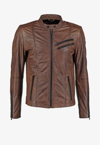 Freaky Nation - DAVIDSON - Veste en cuir - wood - 7