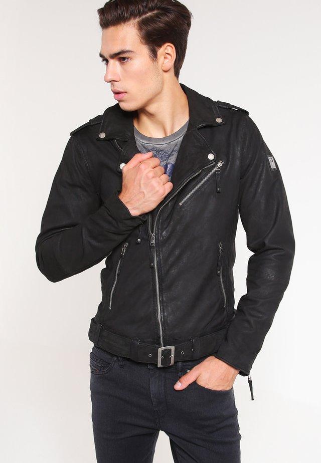 COLTRANE  - Veste en cuir - black