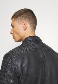 Freaky Nation - BEST BUDDY - Leather jacket - black - 4