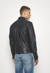 Freaky Nation - BEST BUDDY - Leather jacket - black - 2