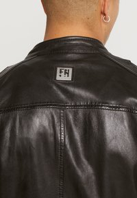 Freaky Nation - LUCKY JIM - Leather jacket - darkbrown - 3