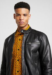 Freaky Nation - LUCKY JIM - Leather jacket - black - 3