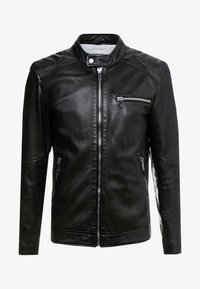 Freaky Nation - LUCKY JIM - Leather jacket - black - 4