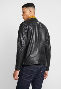 Freaky Nation - LUCKY JIM - Leather jacket - black - 2