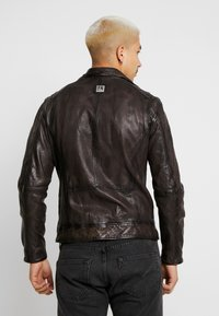 Freaky Nation - BENBLUE - Veste en cuir - multiple brown - 2