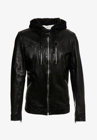 Freaky Nation - NICK - Leather jacket - black - 5
