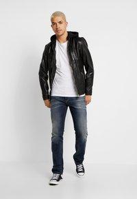 Freaky Nation - NICK - Leather jacket - black - 1