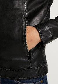 Freaky Nation - NICK - Leather jacket - black - 6