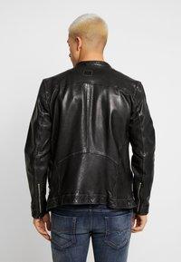 Freaky Nation - NICK - Leather jacket - black - 3
