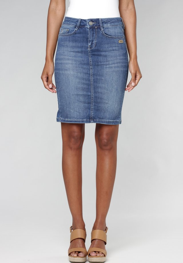 SUSAN  - Pencil skirt - indigo basic
