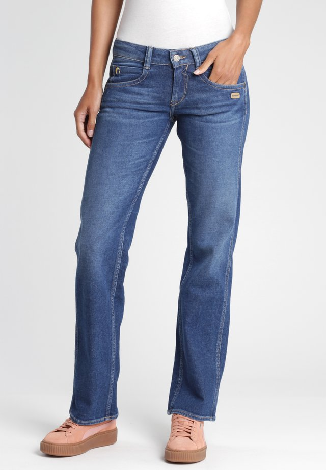 LEONIE - SAN REMO - Straight leg jeans - light blue wash