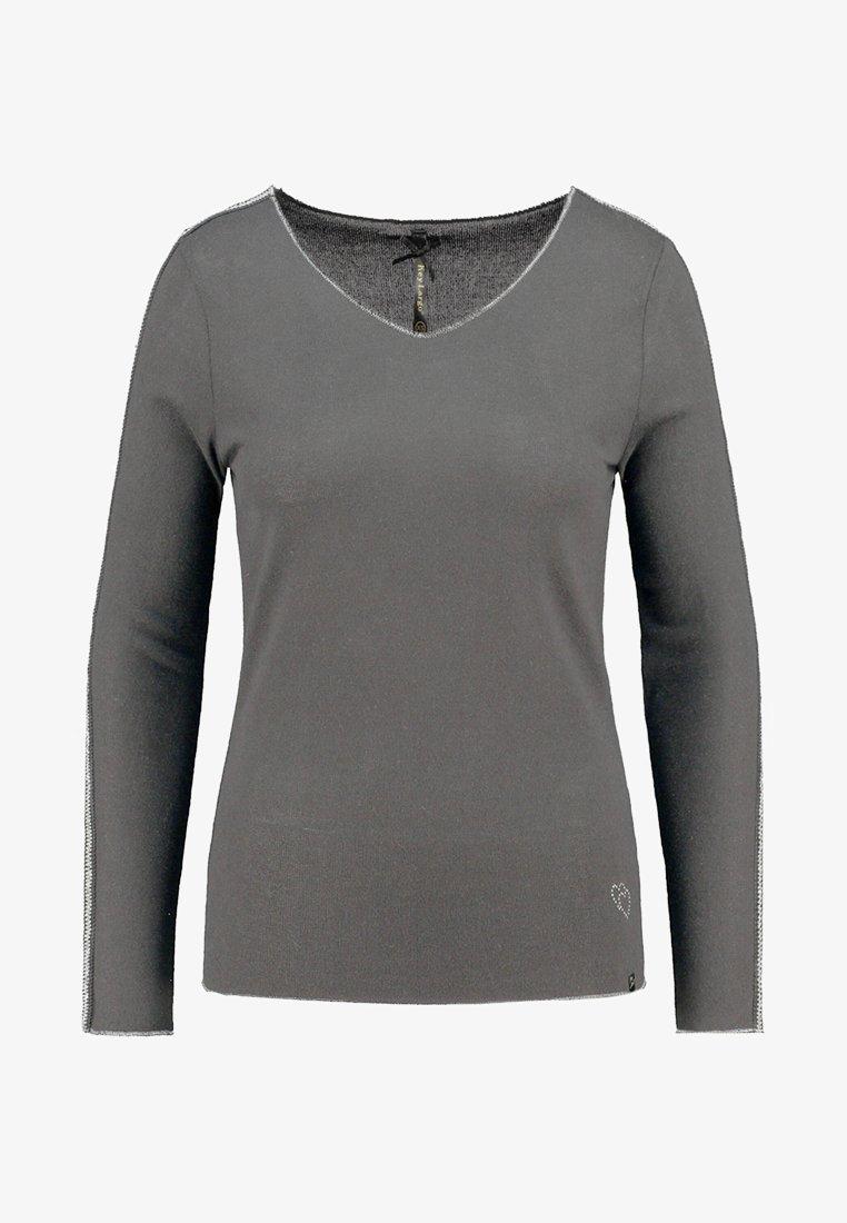 Key Largo - MONA LANGARM - Long sleeved top - anthracite