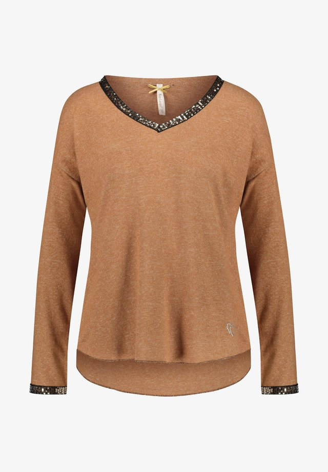 WLS NIGHT - Jumper - cognac
