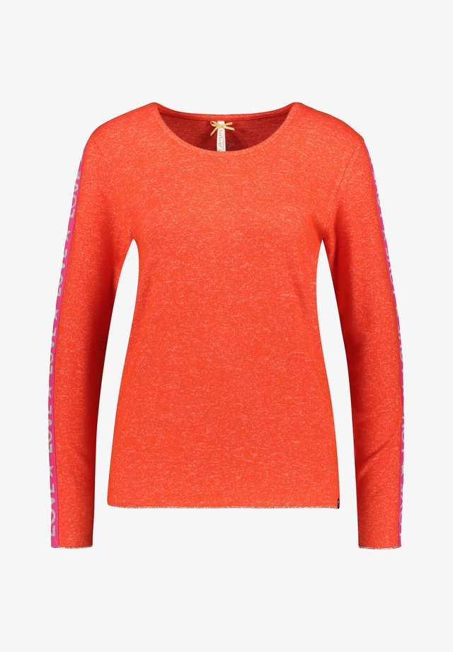 WLS CLAUDIA ROUND - Long sleeved top - orange