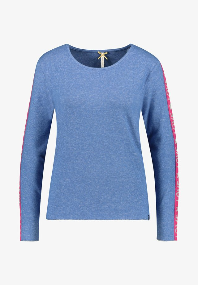 WLS CLAUDIA ROUND - Long sleeved top - marine