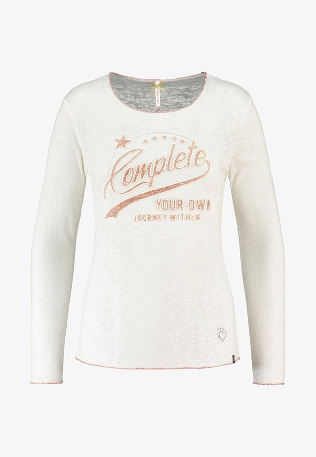WLS OWN ROUND - Long sleeved top - white