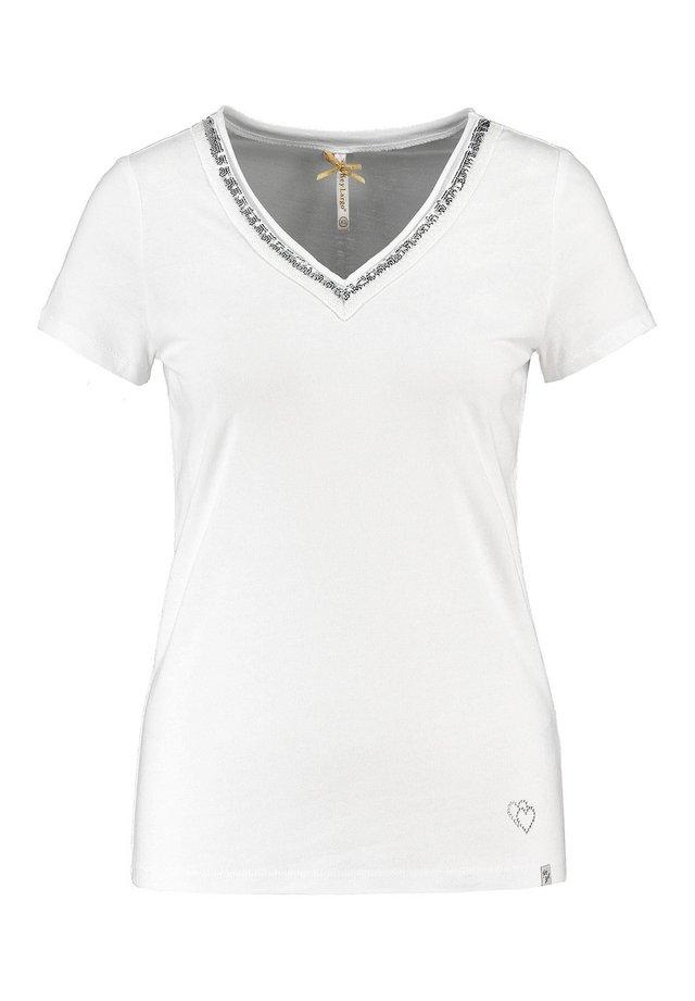 """KEY LARGO DAMEN T-SHIRT """"WT MILA"""" - Print T-shirt - weiss"""