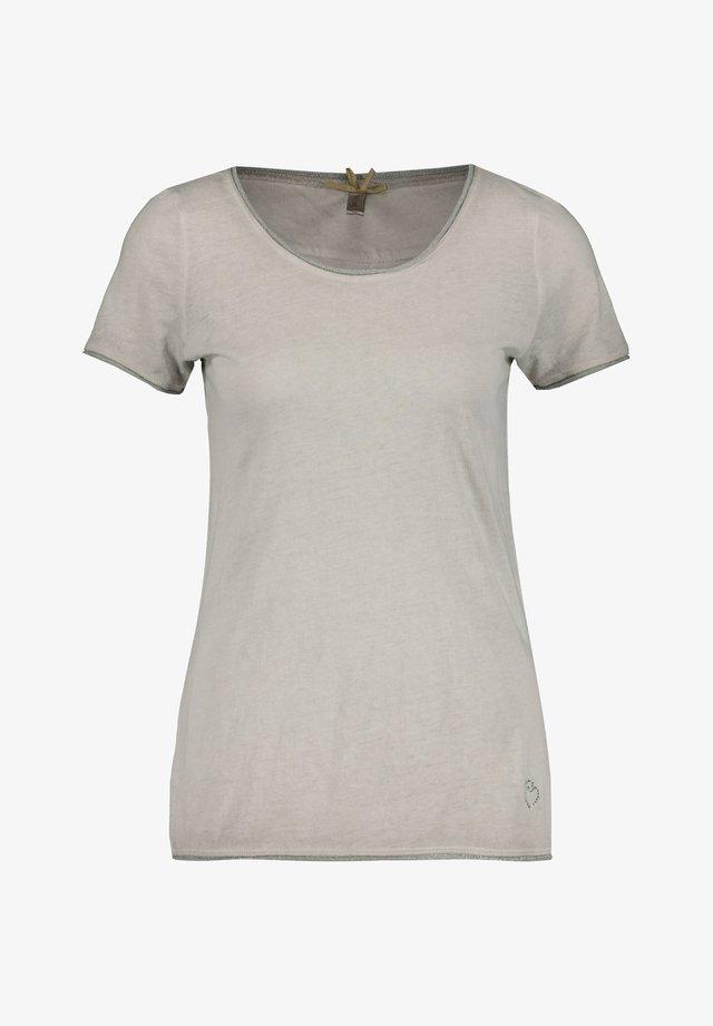 "KEY LARGO DAMEN T-SHIRT ""BASE"" - Print T-shirt - silver"