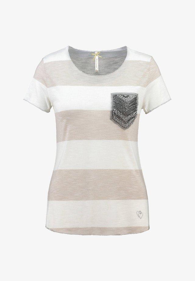 """KEY LARGO DAMEN T-SHIRT """"JANA"""" - Print T-shirt - sand (21)"""