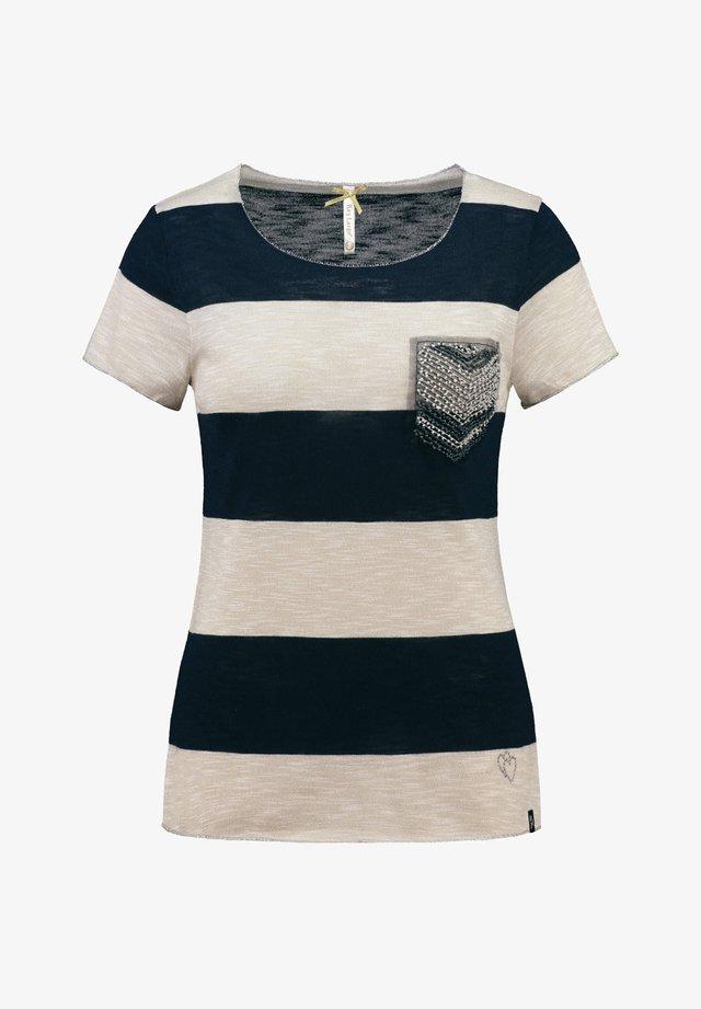 """KEY LARGO DAMEN T-SHIRT """"JANA"""" - Print T-shirt - marine (52)"""