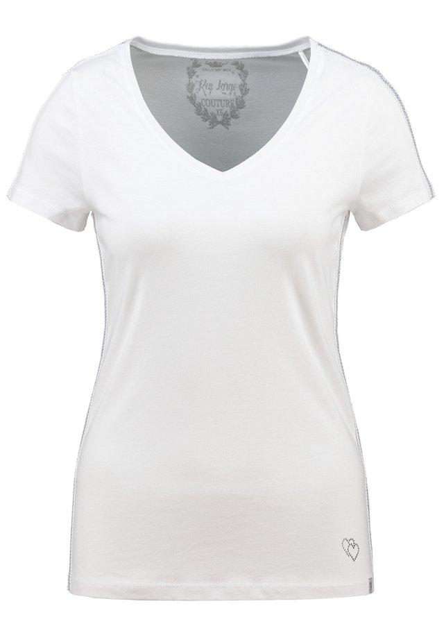 WT TOAST  - Basic T-shirt - white