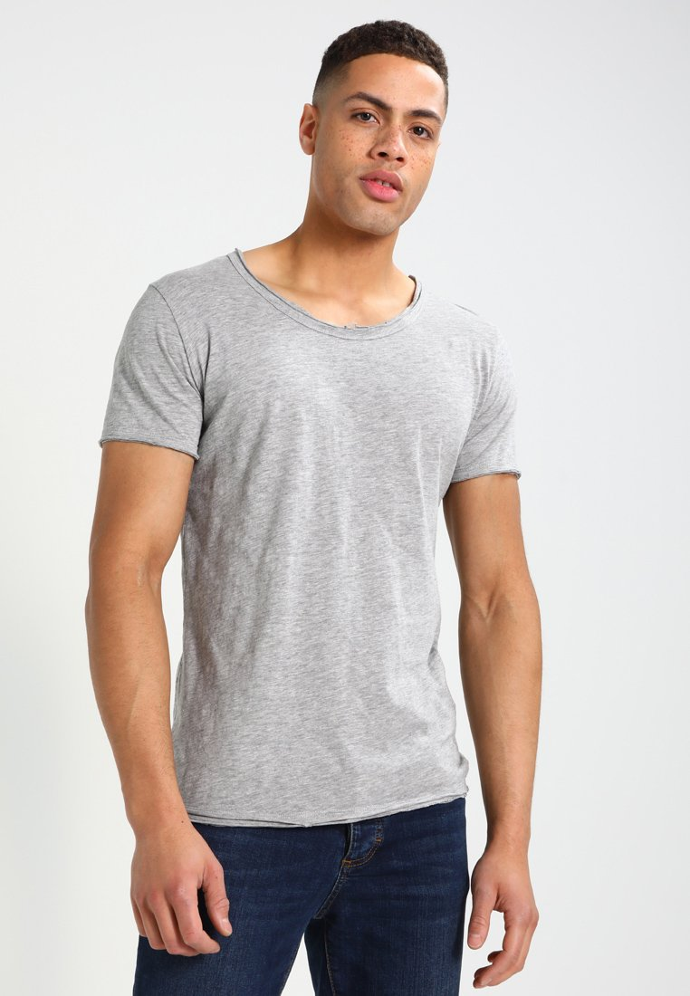 Key Largo - BREAD - T-Shirt basic - silber