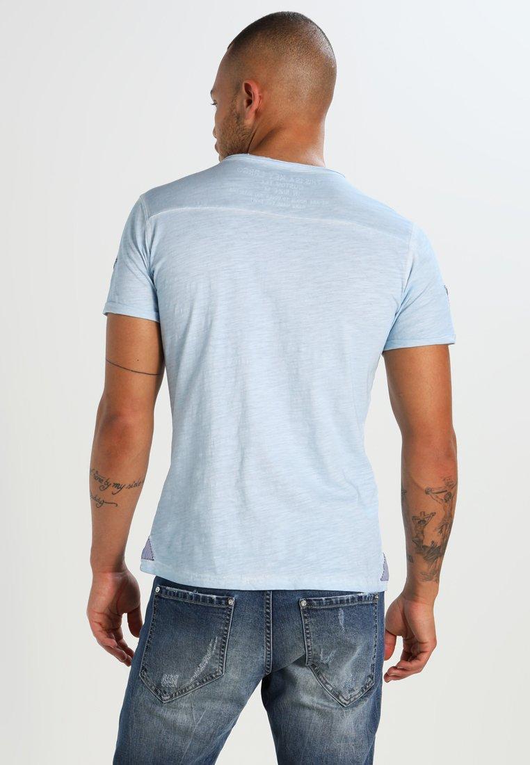 Largo Imprimé ArenaT Skyblue Key shirt O08mNwvn