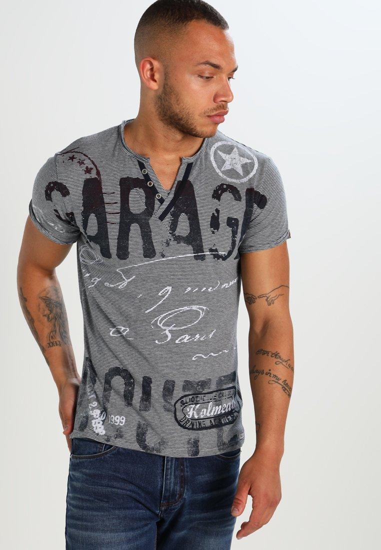 Key Largo - SIGN - Print T-shirt - blue