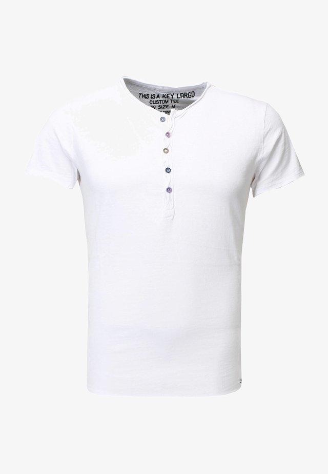 LEMONADE - Jednoduché triko - white