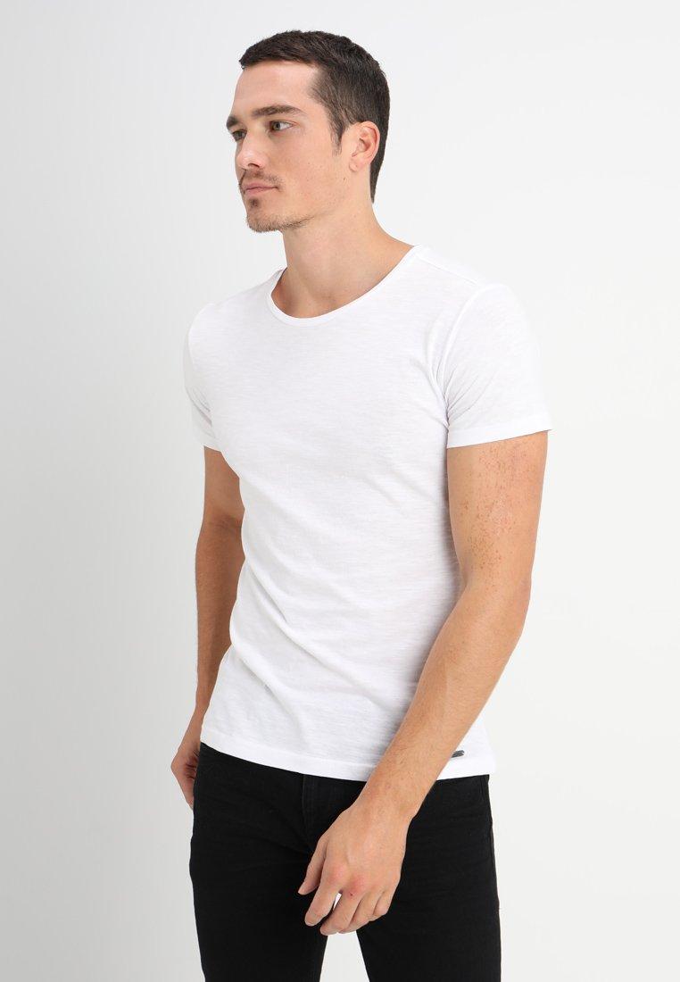 Key Largo - MILK - Basic T-shirt - white