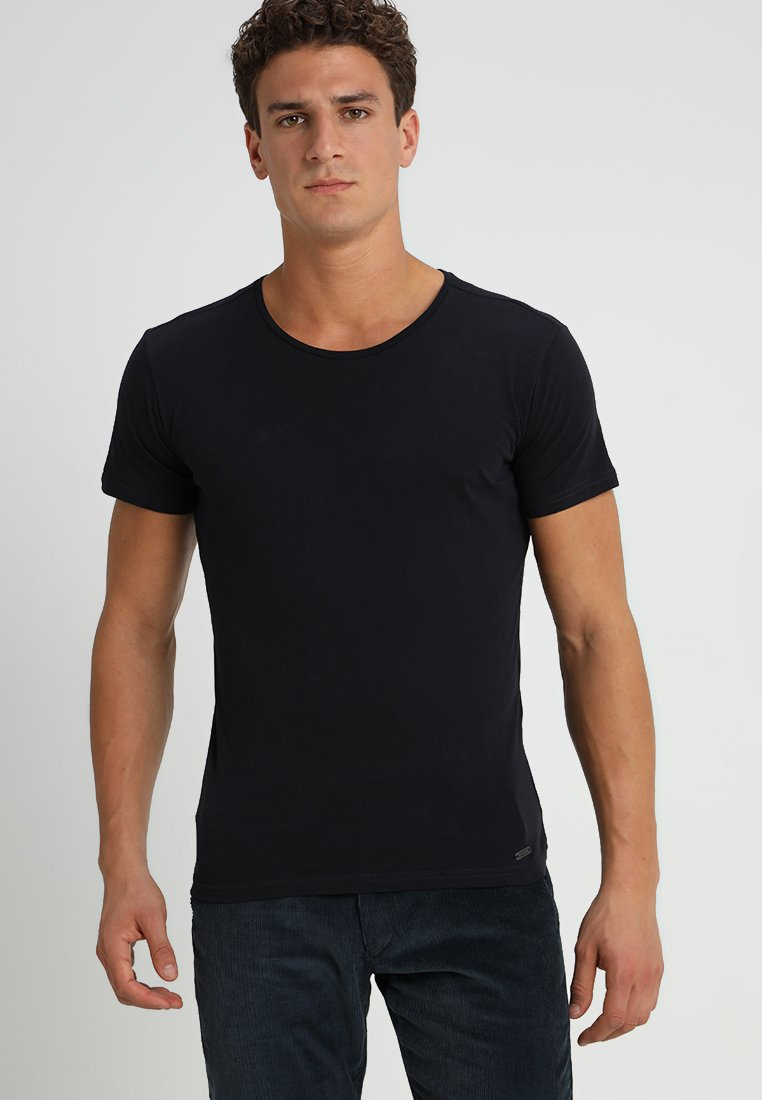 Largo Key MilkT Basique Navy shirt kwOPuTiZX