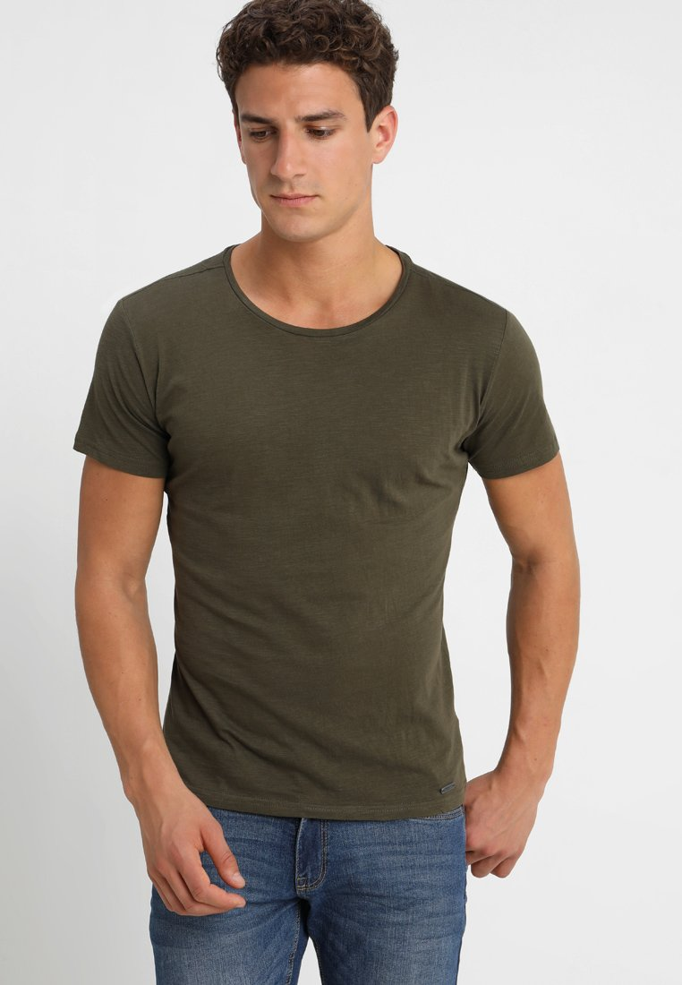 Key Largo - MILK - T-Shirt basic - olive