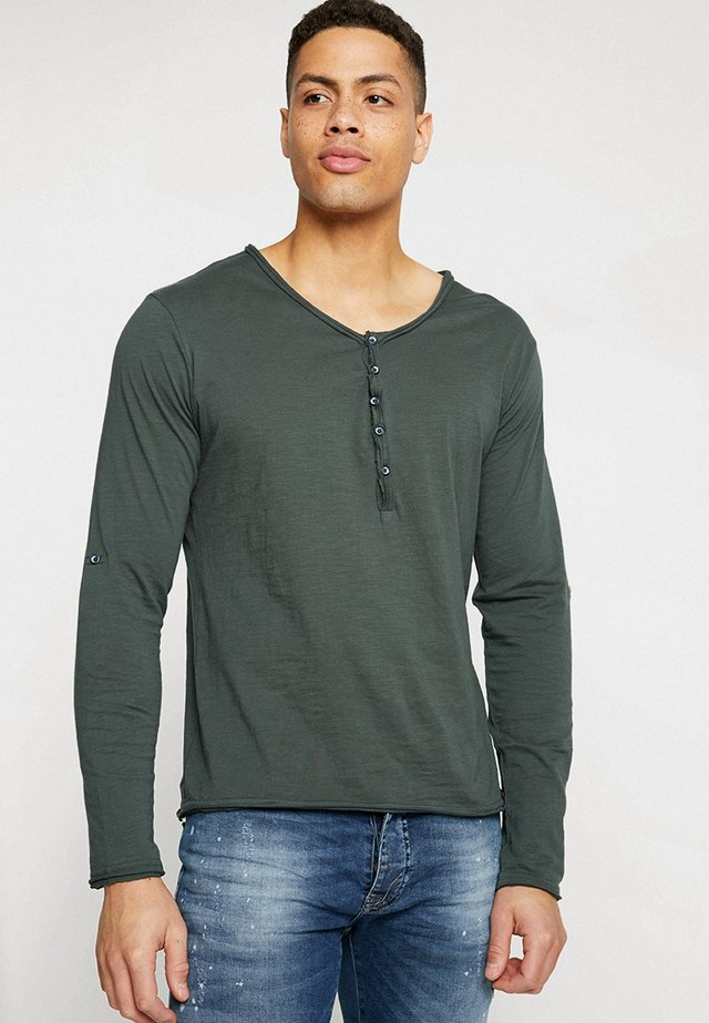 GINGER - Long sleeved top - bottle green
