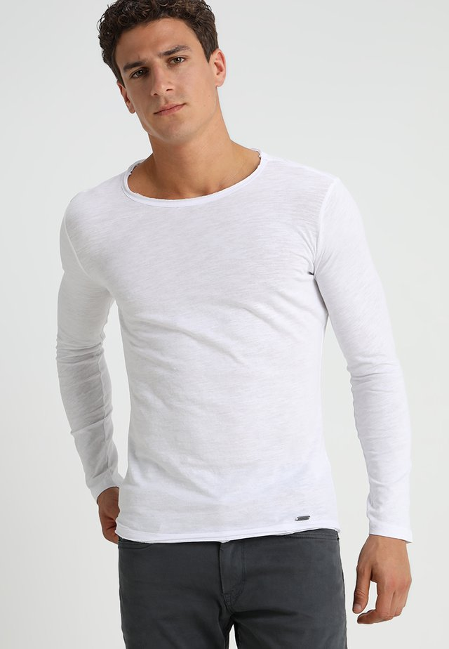 CHEESE - Langarmshirt - white