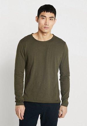 CHEESE - Camiseta de manga larga - olive