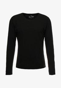 Key Largo - CHEESE - Pitkähihainen paita - black - 4