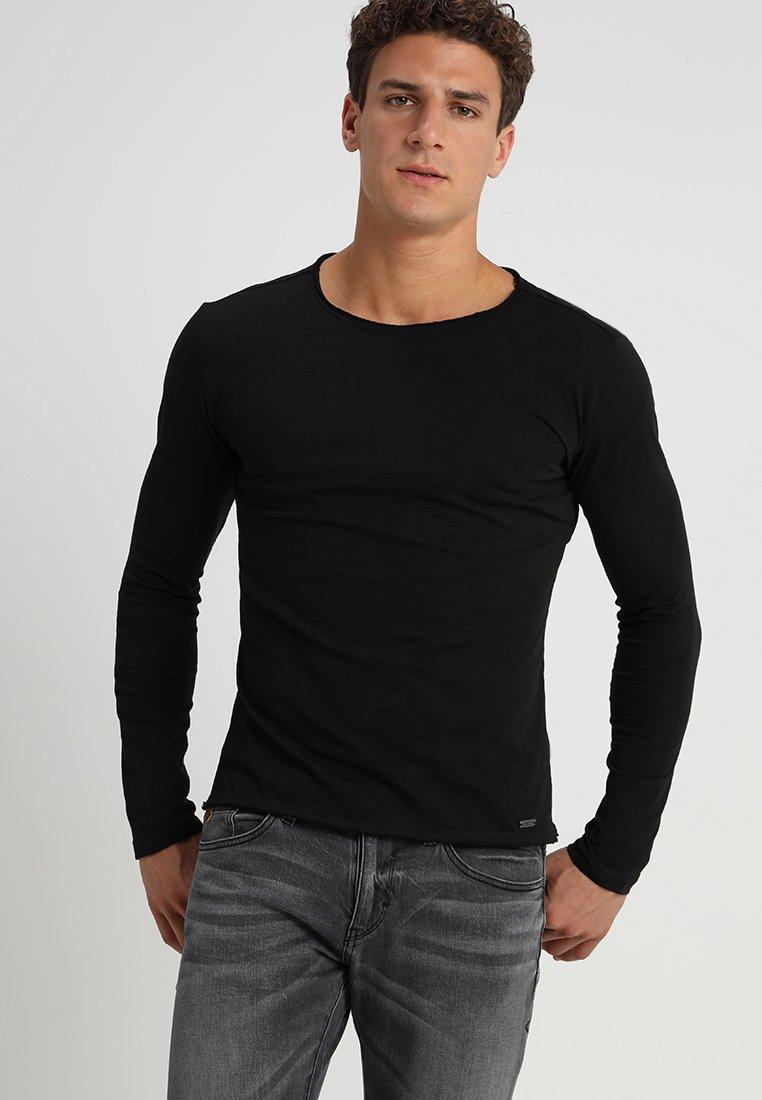 Key Largo - CHEESE - Pitkähihainen paita - black