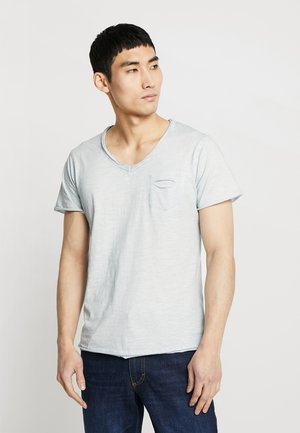 DO NOT USE - T-shirt con stampa - sky blue