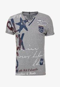Key Largo - FORCE BUTTON - T-shirt imprimé - blue - 4