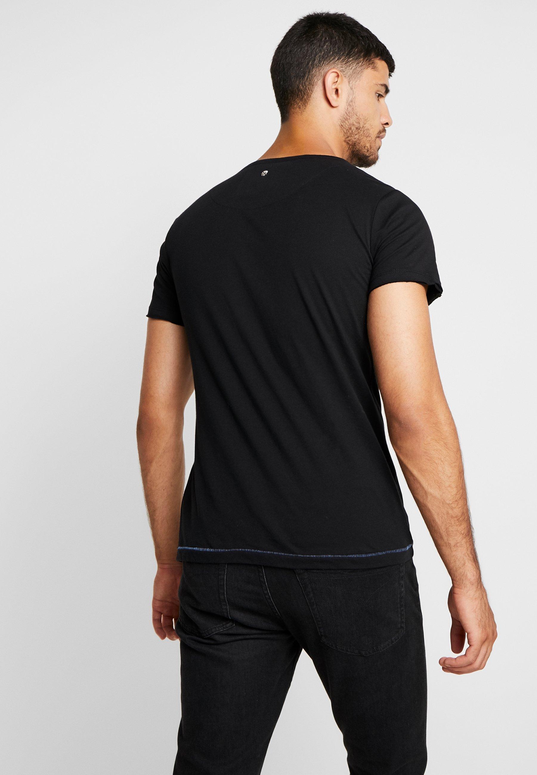 shirt Imprimé Key RoundT Moustache Largo Black yb7Yfg6v