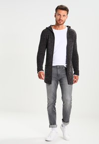 Key Largo - BUDDY - Strikjakke /Cardigans - anthracite - 1