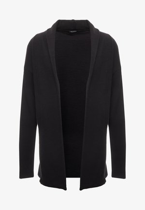 HENDRICKS JACKET LONG - Neuletakki - black