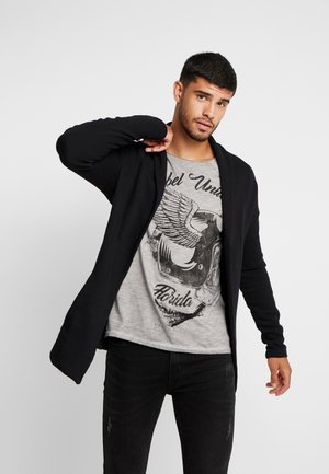 HENDRICKS JACKET LONG - Cardigan - black