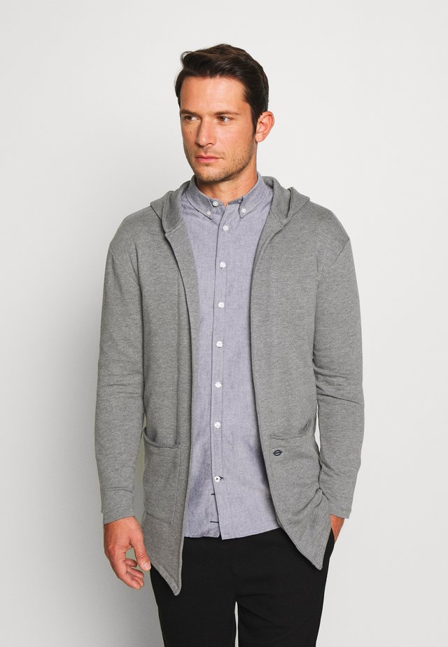 GORDON - Zip-up hoodie - silver